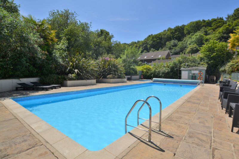 Shared outdoor swimming pool