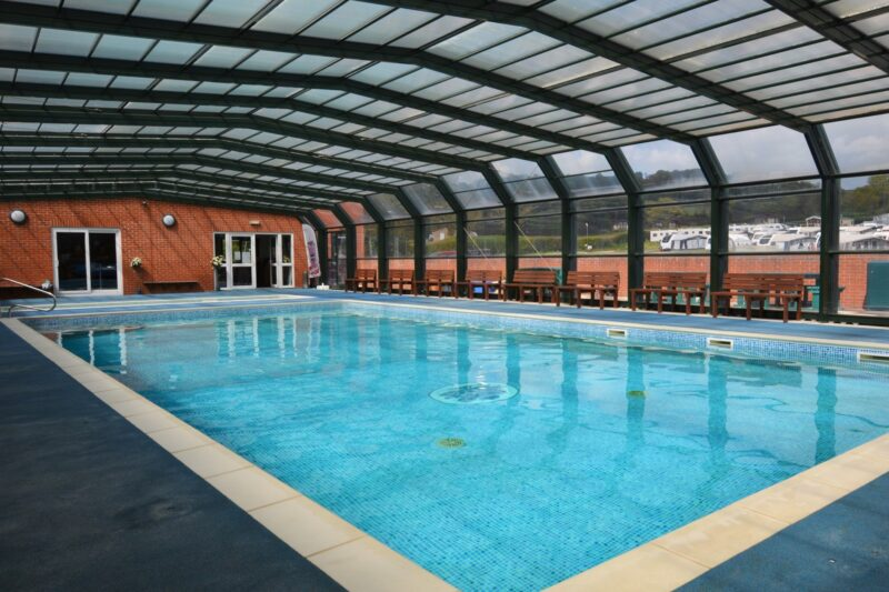Shared covered outdoor heated swimming pool - please refer to property description for details